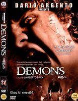Demons (1985, Lamberto Bava) DVD NEW