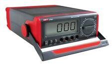 Uni-banco De Escritorio UT801 tipo Temp T Multímetro Digital AC DC Reino Unido Stock!!!