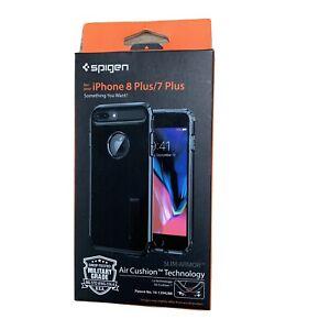 Spigen Slim Armor Series Case w/Kickstand for Apple iPhone 7Plus/8Plus Jet Black