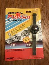 RARE Micro Sect Action Watch By Tiger Electronic Toys 1985