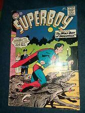 Superboy #116 Lana Lang Swan Siegel Papp DC Silver Age Comic Book VG+ collection