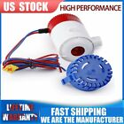 12V 750Gph Boat Bilge Water Pump Electric Marine Submersible Without Float Switc photo