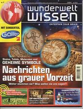 Wunderwelt Wissen - Nr.7 - 2012 mit Nachrichten aus der grauen Vorzeit