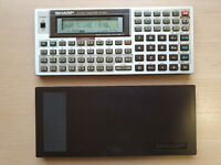 SHARP PC-1403 Pocket Computer, BASIC Calculator, Taschenrechner #700