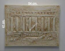 Relief Parthenon Stuck gips Skulptur Flachrelief Griechische Wandrelief Wandbild