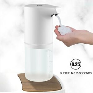 350ml Automatic Foam Soap Dispenser Waterproof Touchless Hands Free Rechargeable