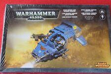 Games Workshop Warhammer 40k Space Marines Land Speeder Tornado New GW BNIB OOP