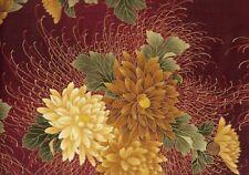 Quilt-Gate hyakkaryoran patchwork sustancia amarilla Quilt hasta messingfarbende chryanthe