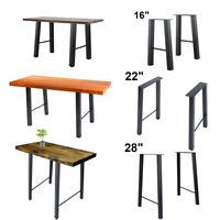 "16"" 22'' 28"" Industry Table Leg Metal Steel Chair Bench Legs DIY furniture 2PCS"