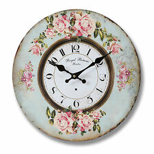 Wall Kitchen Clock - ROYAL BOTANIC GARDEN Design - (34cm)