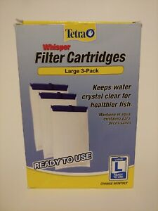 2 LARGE Tetra Whisper Filter Cartridges OPEN BOX - 2 FILTERS REMAINING