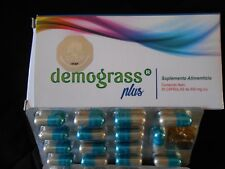 Demograss Plus. Herbal Supplement 30 Capsules. Fat Burner for Diet. Weight Loss