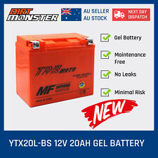 YTX20LBS AGM Battery for YAMAHA ATV YFM 400 450 550 600 660 700 QUAD BIKE