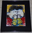 TOM EVERHART PEANUTS LUCY IF ONLY EL NINO WAS A TALK SHOW GUEST FRAMED PRINT