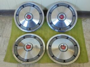 "1974 Ford Mustang II Hubcaps 13"" Set of 4 Wheel Covers 74 Hub Caps"