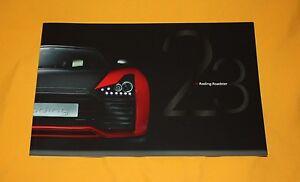 Roding Roadster 2012 Prospekt Brochure Prospetto Catalog Folder Broschyr