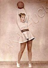 Woman Short Skirt Basketball HENDRICKSON Color PHOTO Original Artist Studio D793