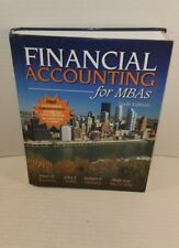 Financial Accouting for MBAs 6th Edition Sixth Hardcover McAnally Wild Easton