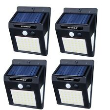 4 LAMPADE LED SOLARE DA ESTERNO GIARDINO FARETTO FOTOVOLTAICO CON SENSORE LUCE
