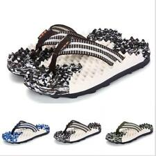 Mens Outdoor Sand Flat Sport Beach Clip Toe Thong Camouflage Knead Slipper Shoes