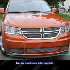 Fits 2011-2018 Dodge Journey Fog Light Billet Grille Insert