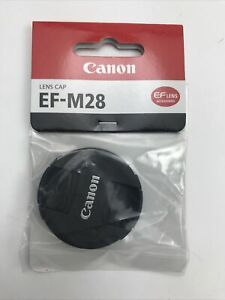 Canon Lens Cap for EF-M 28mm f/3.5 Macro IS STM #1378C001