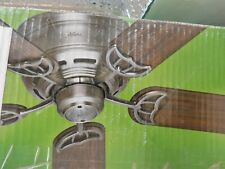 Hunter 52 in. Low Profile III Antique Pewter Ceiling Fan 53071