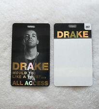 Drake vip ebay new listing drake ovo would you like a tour vip 1 pass laminate all access 2013 rare m4hsunfo
