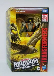 NEW Hasbro Transformers Robot Action Figures War For Cybertron Kingdom Airazor