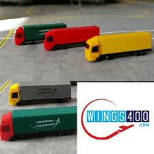 1:400 AIRPORT ACCESSORIES/GSE CARGO TRUCKS (X6) BY WINGS400.
