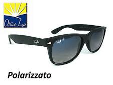 Ray Ban New Wayfarer 2132 601s/78 Nero Polar 601S78 Sunglass Sonnenbrille Sole