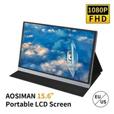 AOSIMAN Portable Monitor FHD 1080P LCD 15.6inch 47% NSTC 16.7 Million Colors...