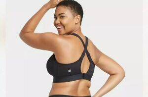 Women's High Support Convertible Strap Bra - All in Motion 42 D Black MSRP $24
