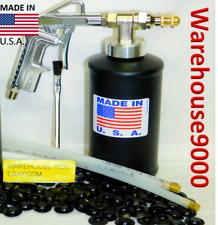 Fluid Film Pro Gun w/ 1 empty Bottle 1 - 360* & Straight Spray Hoses 100 Plugs