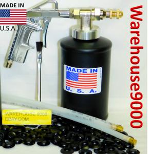 Fluid Film Pro Gun w/ 1 empty Bottle 1 - 360* & Straight Spray Hoses 50 Plugs
