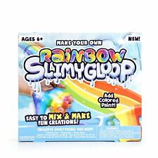 Slime Colorful SlimyGloop Make Your Own Slime Kit (Colored Paint) Birthday Fun!