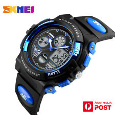 SKMEI Sports Quarts Digital LED Date Wrist Watch Waterproof Kids Adult AU SELLER