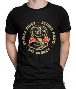 Cobra Kai T-shirt Tee Top Karate Kid Movie Kung Fu Martial Arts Retro Unisex frn