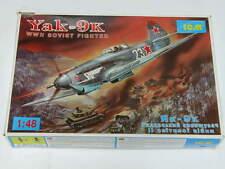 1/48 ICM YAK-9K WW2 Soviet Fighter Plane Scale Plastic Model Kit Complete
