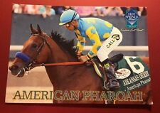RARE OAKLAWN PARK AMERICAN PHAROAH HORSE RACING TRADING CARD Mint Triple Crown