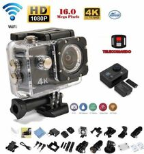 PRO CAM SPORT ACTION CON TELECOMANDO CAMERA 4K VIDEOCAMERA WIFI ULTRA HD 16MP