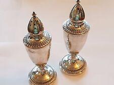 Salz und Pfeffer Streuer England Sterling Silber 925 Diverse Punzen ca. 12, 5 cm