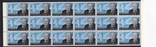 More details for rhodesia 16 august 1965 winston churchill block of 18 commemorative stamps mnh