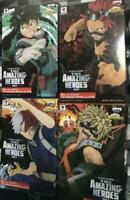 Banpresto My Hero Academia The Amazing Heores 4 set figure Japan NEW F/S