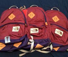 North Face Mini Berkeley Backpack Amaranth Purple/Nimbus Blue School Bag