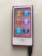 Apple iPod Nano 7th Generation 16GB MP3 Player - Purple - Light Lines On Screen