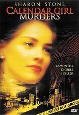 Calendar Girl Murders ~ Sharon Stone Tom Skerritt ~ DVD ~ FREE Shipping USA