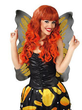 LADIES BEAUTIFUL GOLD BUTTERFLY WINGS FOR COSTUME FANCY DRESS OUTFIT NEW 46x54CM