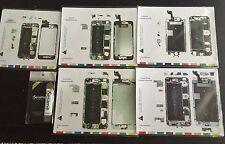 Set Magnetic Screw Mat iPhone 6s 6s Plus 6 6 Plus  5 Repair & Isesamo pry tool