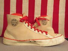 Vintage 1940s Us pro Keds Lona Altas Zapatillas de Baloncesto Zapatos Atléticos